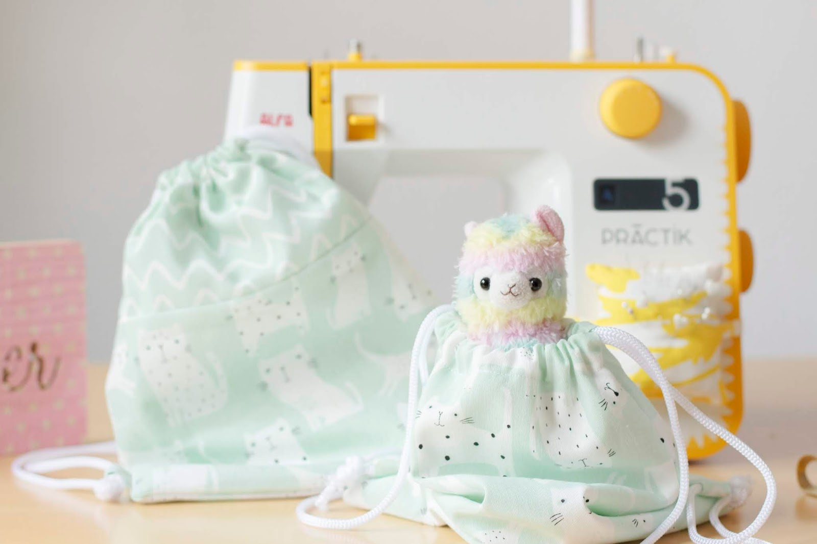 Cose conmigo: Mochila para niños   Mi primera máquina de coser