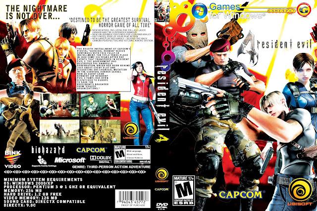 Capa Resident Evil 4 PC