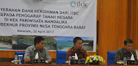 ITDC Serahkan Rp9,7 Milyar Uang Kerohiman kepada 14 Warga Pemilik Lahan