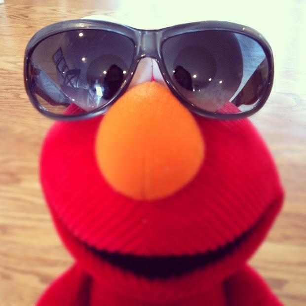 7e46127035 Goodr Og Sunglasses Donkey Goggles 62063 Clothing. Elmo Wearing Sunglasses