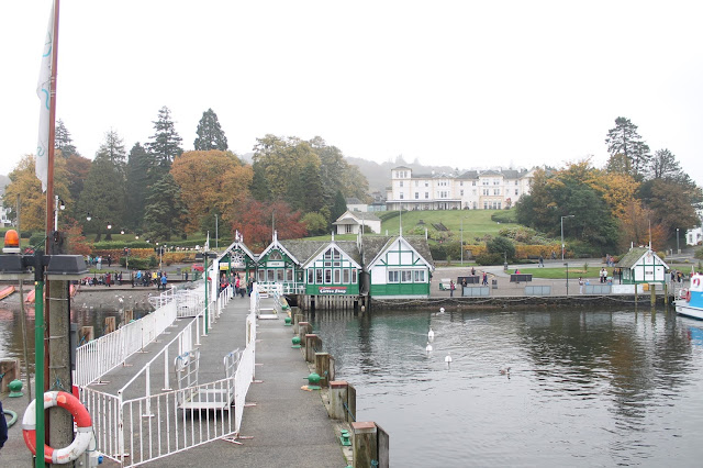 Ambleside to Bowness boat trip Lake District Bowness Pier