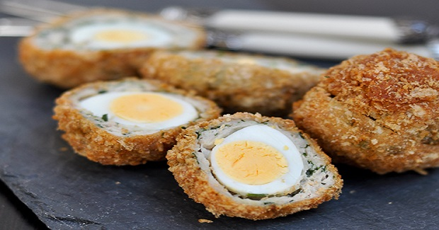 Quail Scotch Eggs Recipe