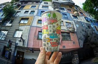 Hundertwasserhaus,Viena