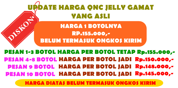 Penjual QnC Jelly Gamat Di Malang