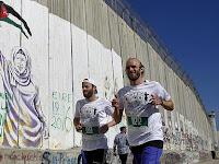 4th Palestina Marathon, Berlari Mengitari Dinding Yang Dibangun Israel