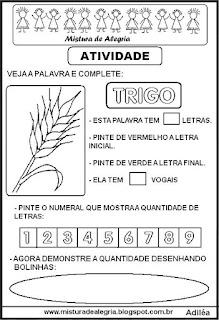 Símbolos da páscoa trigo