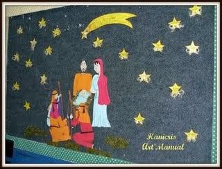 Diversos Mural De Natal