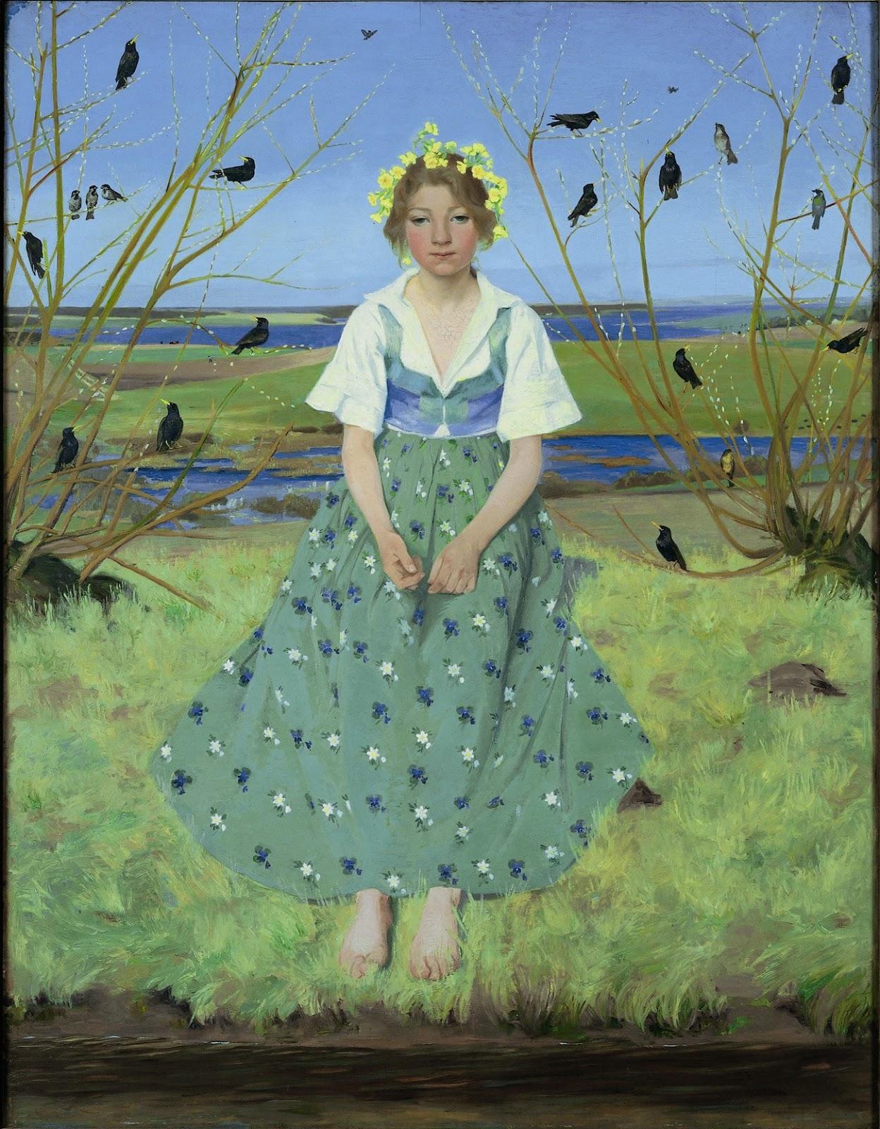 Foraaret / Spring,  1896
