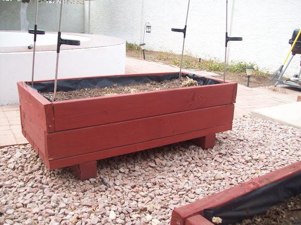 Above Ground Custom Planter Boxes