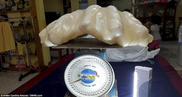 giant pearl, fisherman got pearl,
