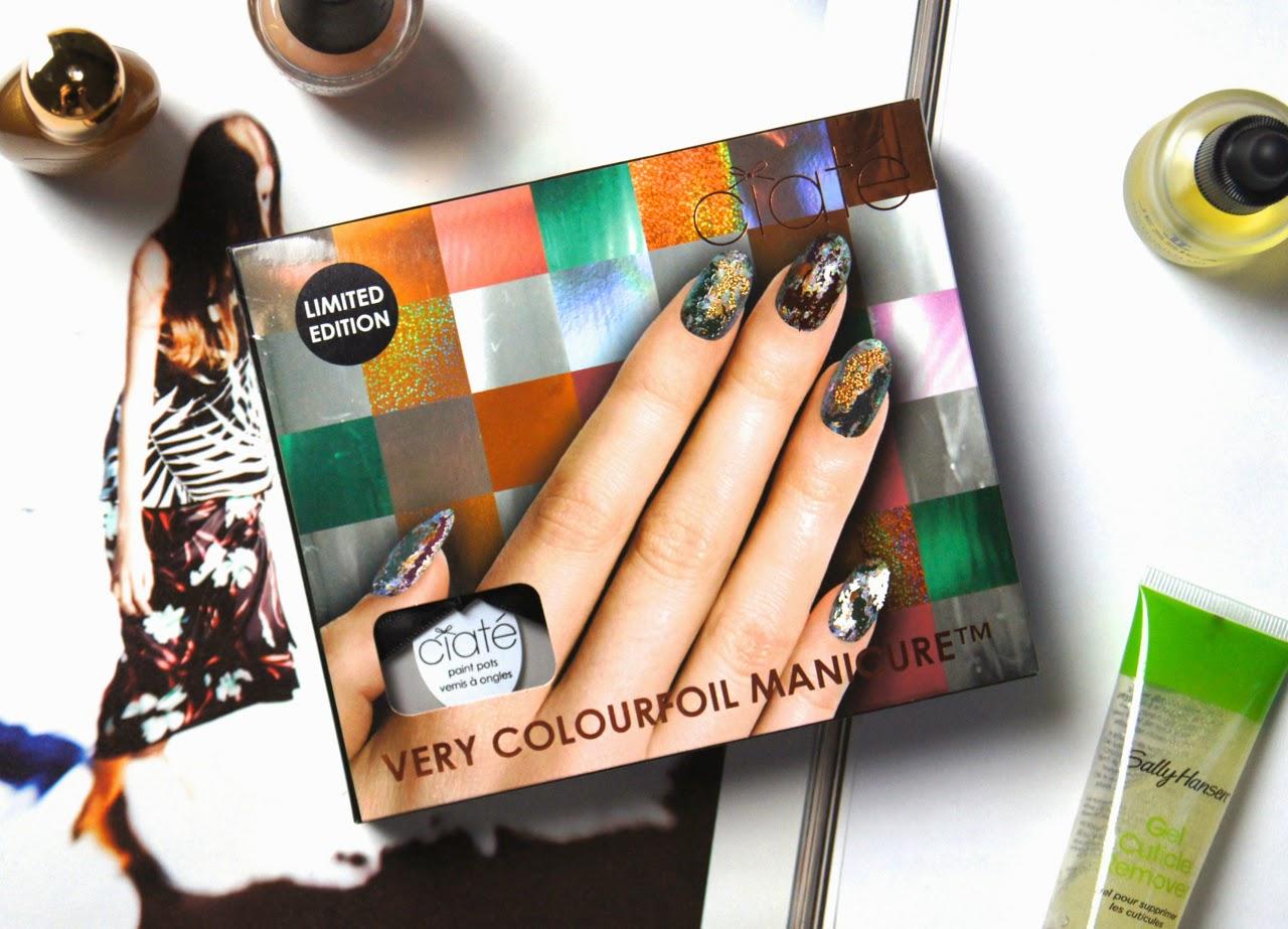 ciate very colourfoil manicure set wonderland review nail design