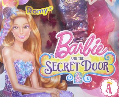 Обзор куклы русалки из серии Барби и потайная дверь