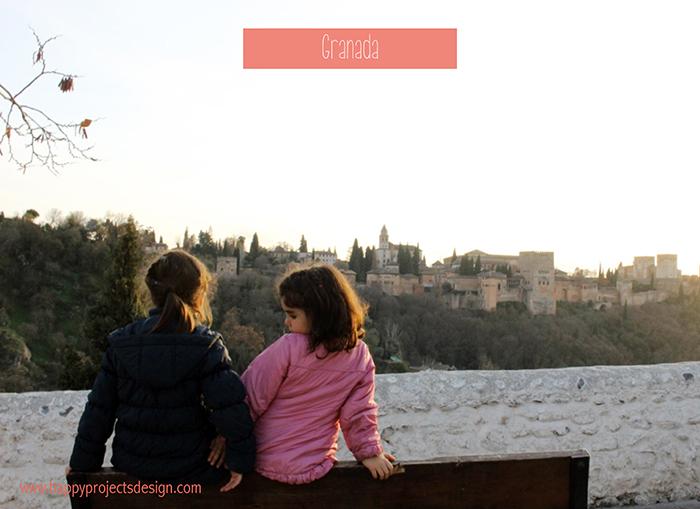 Granada: vistas de Alhambra