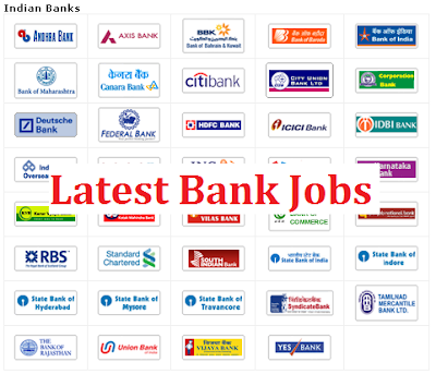 Latest bank Jobs 2016
