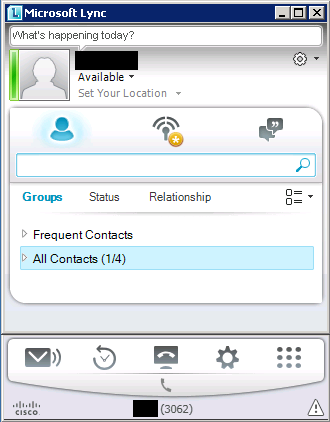 UC - From my point of view: Lync in coexistence with CUCM part 1