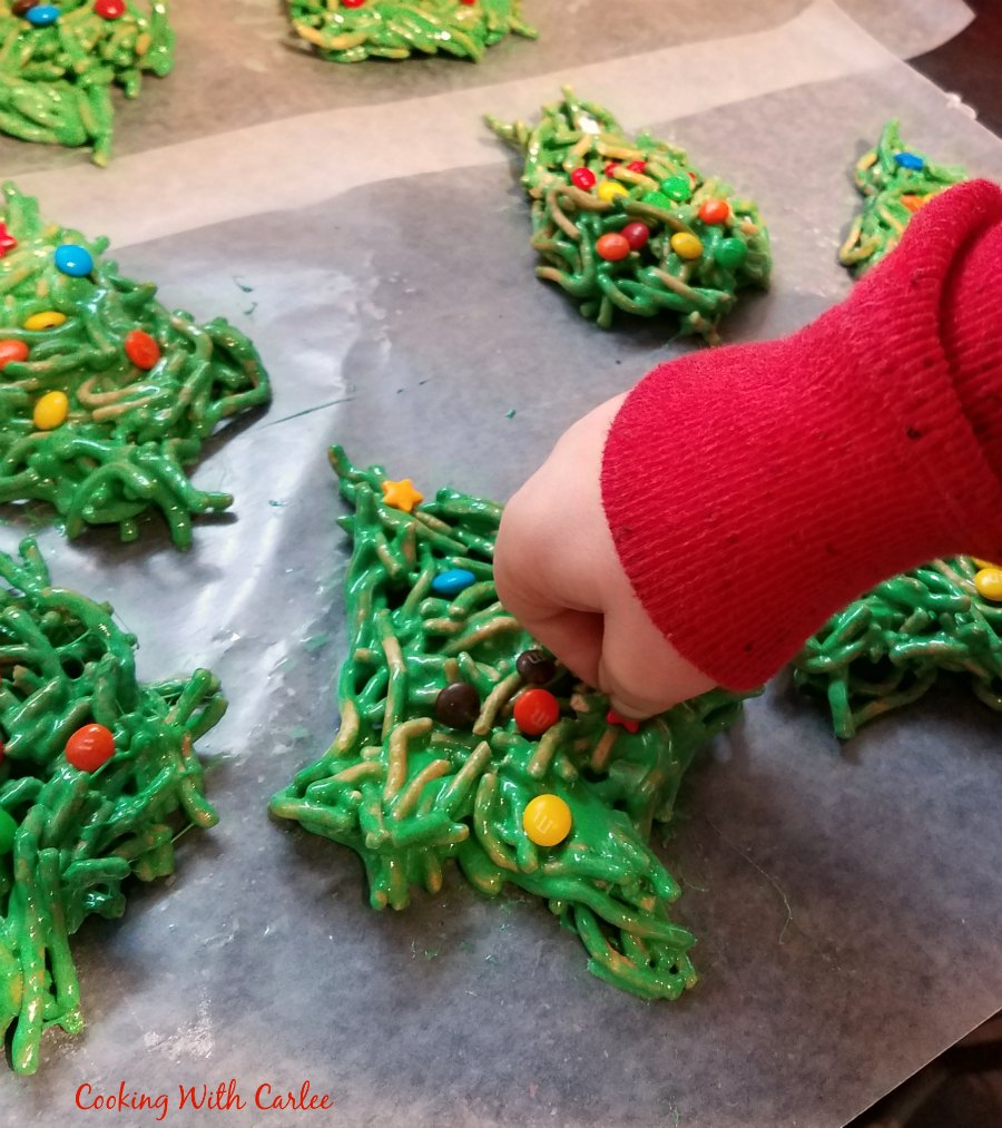 Mini Christmas Tree Cookies The Christmas Tree