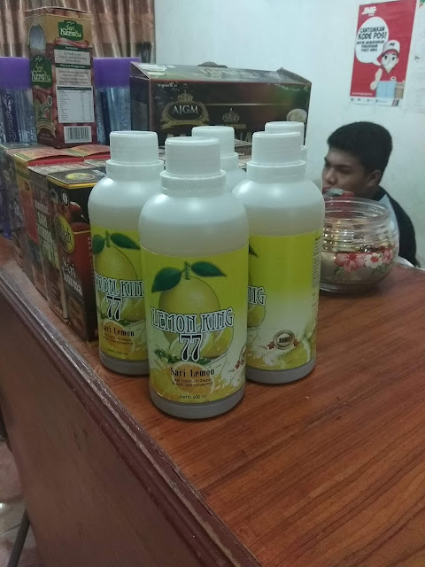 Agen Sari Lemon King 77 di Padang Sumatera Barat