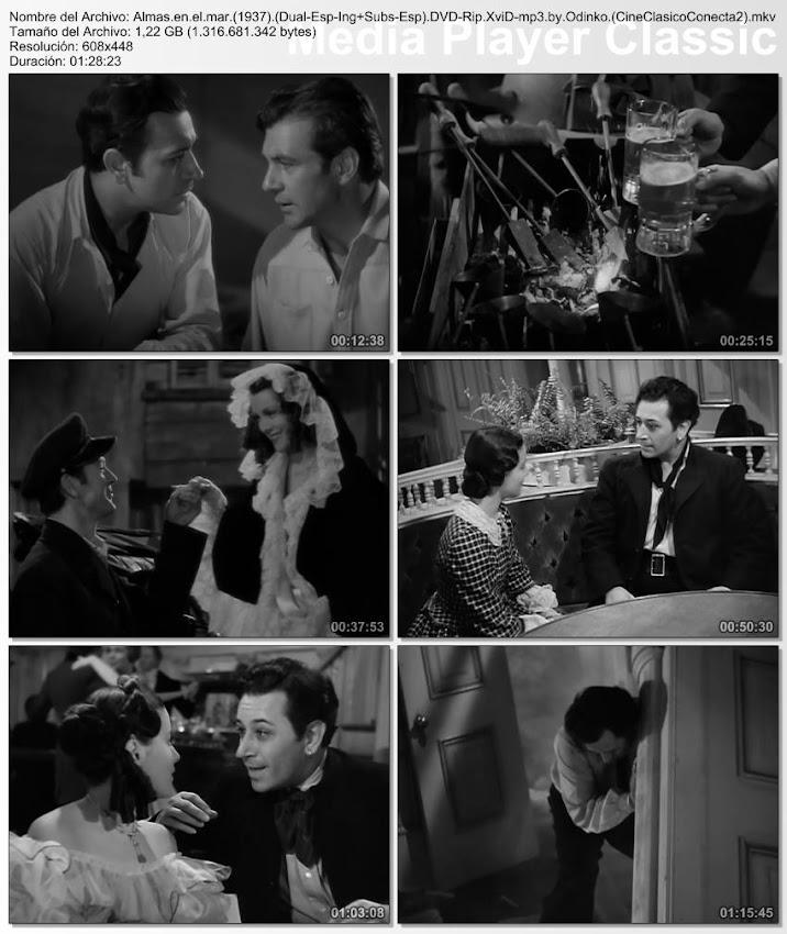 Imagenes de la película, Almas en el mar | 1937