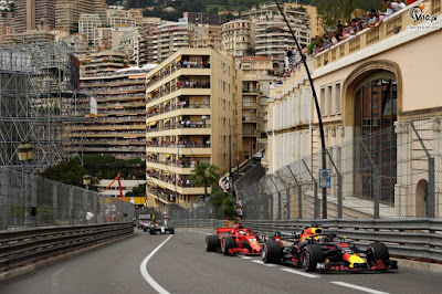 Formula 1 Monaco GP radio messages.