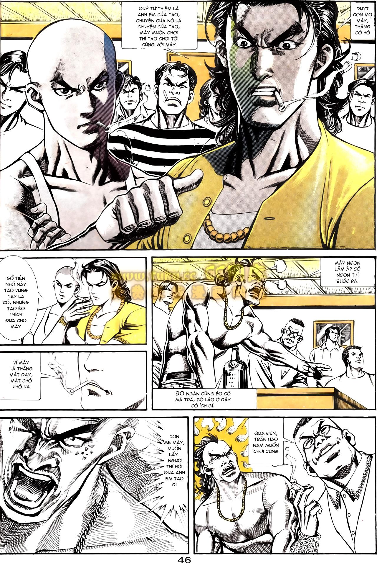 Người Trong Giang Hồ chapter 164: hạo nam chiến quạ đen trang 18