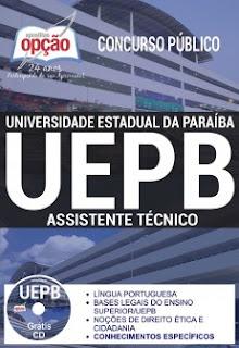 www.apostilasopcao.com.br/apostilas/2391/4881/concurso-uepb-2017/assistente-tecnico.php?afiliado=13730