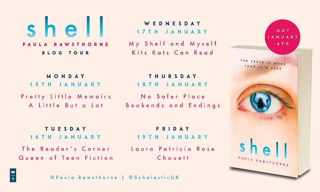 """Blog Tour / Review: """"Shell"""" by Paula Rawsthorne (+ Playlist!)"""