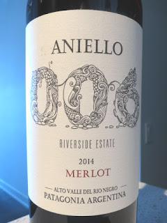 Aniello 006 Merlot 2014 (89 pts)