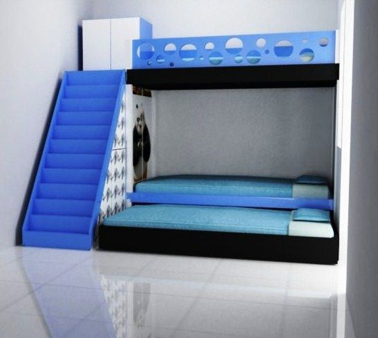 Desain Kamar Anak Laki-Laki Ukuran Kecil