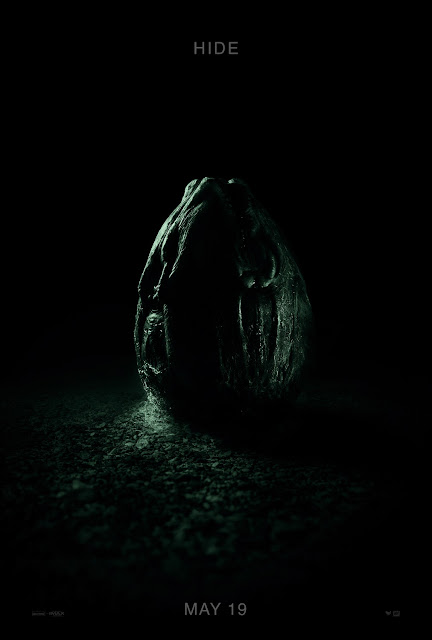 "Alien Covenant ""Hide"" Theatrical One Sheet Teaser Movie Poster"