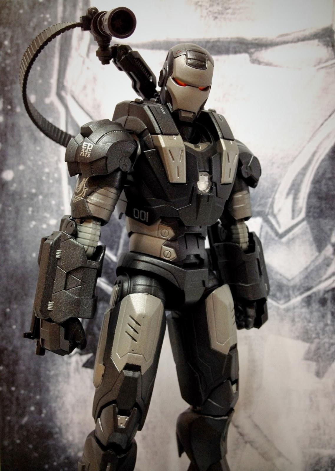 combos action figure collection war machine iron man 2