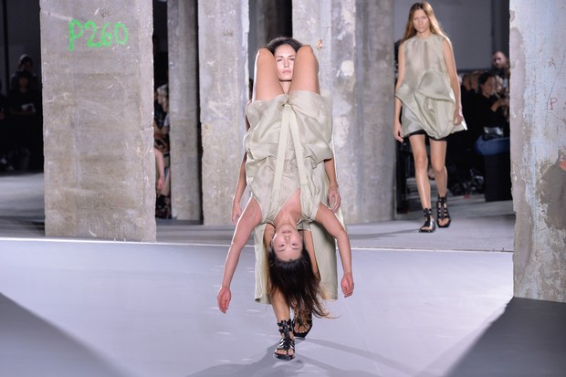Paris Fashion Collection Week Rick Owens