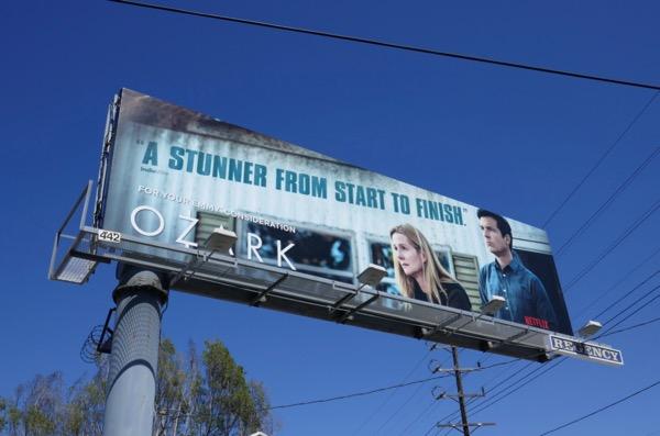 Ozark stunner 2018 Emmy FYC billboard