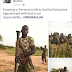 """""""Forgiving a terrorist is left to God, but fixing their appointment with God is our responsibility"""" -Nigerian soldier"""
