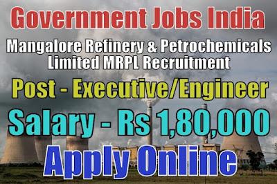 MRPL Recruitment 2018