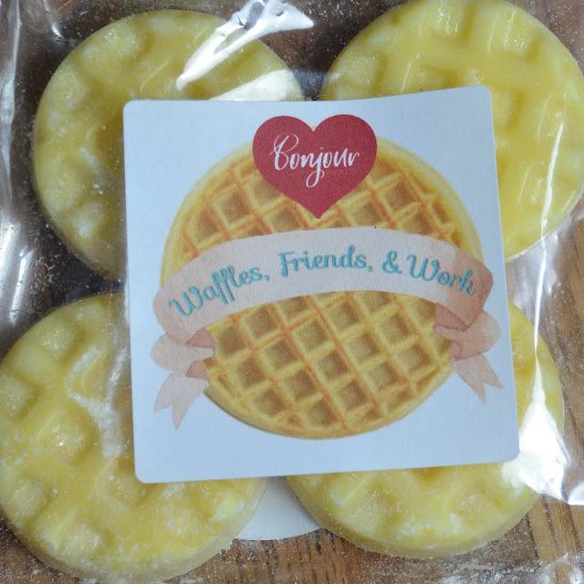 waffle scented wax melt