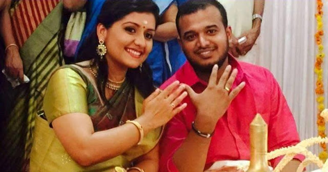 Actress Sarayu -Sanal V Devan engagement