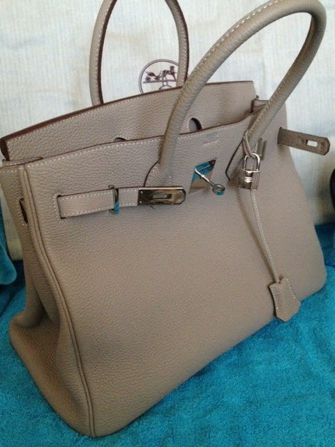 ad05cabc599 Rep 35 cm Togo leather Birkin. This bag is made of authentic Togo leatherit  even has veining going thru it