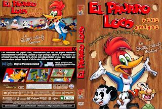 CARATULAEL PAJARO LOCO Y SUS AMIGOS - THE WOODY WOODPECKER SHOW [COVER - DVD]