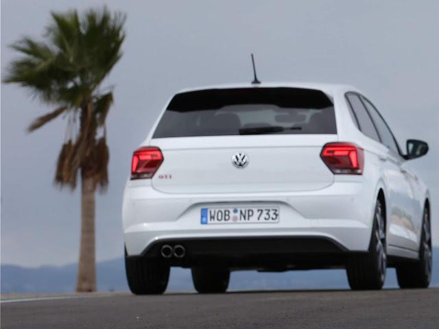 VW Polo GTI 2018 Branco