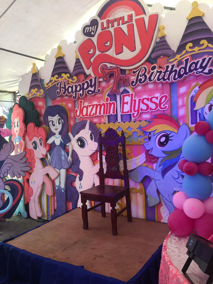 Sample Birthday Themes My Little Pony For Seventh