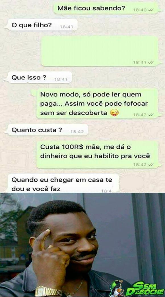 TÁTICA PRA GANHAR DINHEIRO DA MÃE