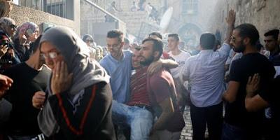 Confrontos violentos com dezenas de feridos em Jerusalém