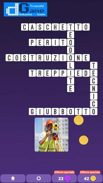 Soluzioni One Clue Crossword livello 8 schemi 12 (Cruciverba illustrato)  | Parole e foto
