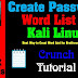 How to Crack Passwords Creating a Custom Wordlist with Crunch