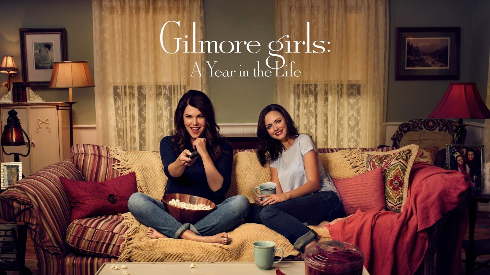 Imagen promocional de Netflix con Lorelai y Rory para 'Gilmore Girls: A Year in the Life'
