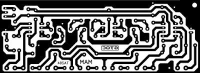 PCB Layout Tone Control NEWGEN TA284