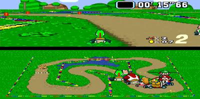 Super Mario Kart - Captura 4