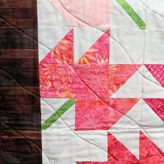 modern maple leaf quilt batik fabric