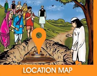 Location Map Sai Mandir Jhabua