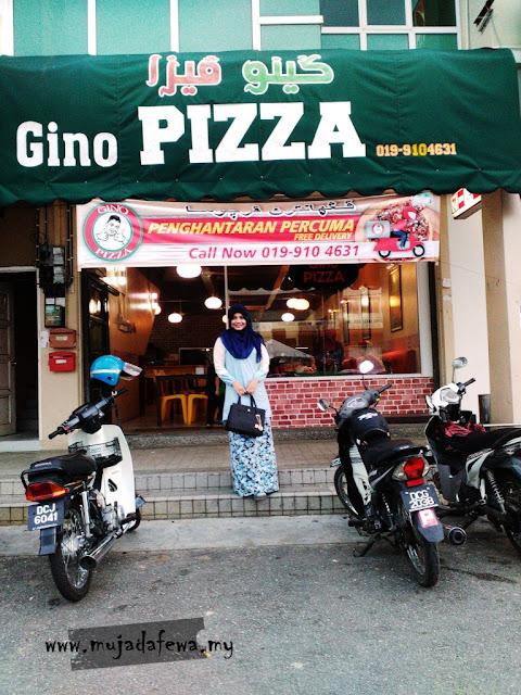 gino pizza, pizza sedap kelantan, pizza murah kelantan